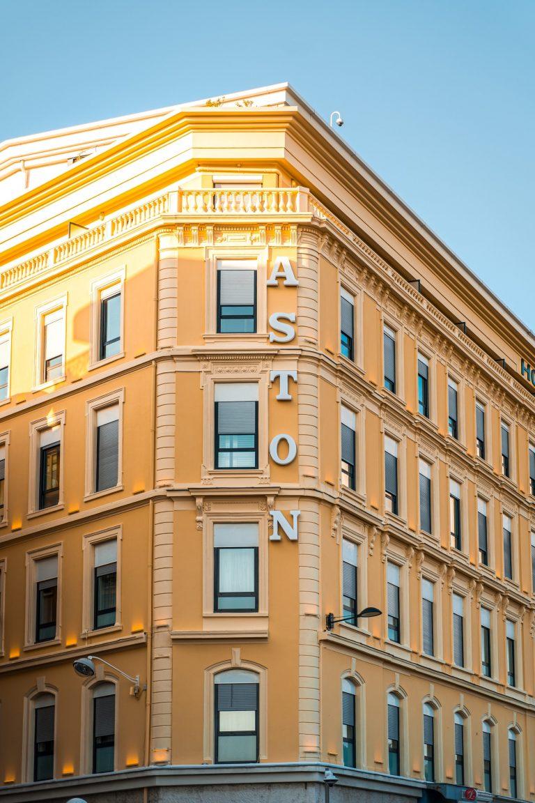 L'hôtel Aston La Scala, un 4 étoiles dans un cadre idyllique.