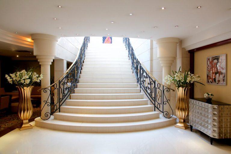 L'atmosphère élégante de l'hotel Aston La Scala.
