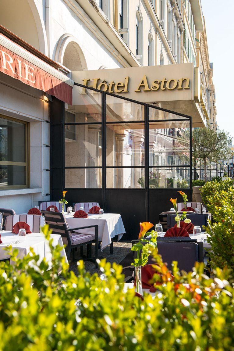 Le restaurant L'Horloge, de l'hôtel Aston La Scala, l'une des tables renommées de la ville.