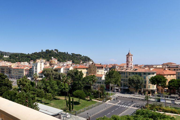 Vue sur Nice